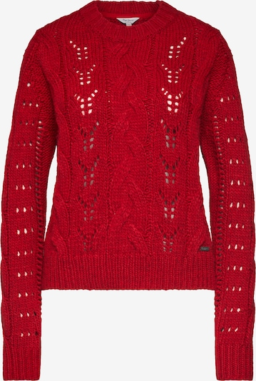 Pepe Jeans Strickpullover in rot, Produktansicht