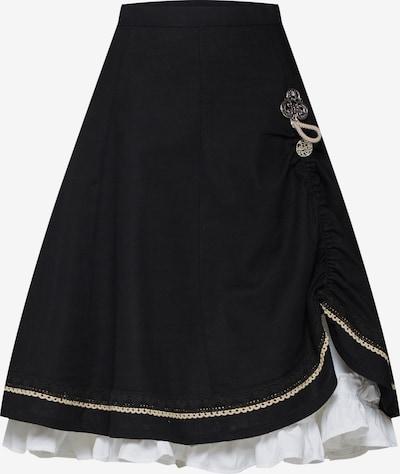 MARJO Rock 'Esther-Marie' in schwarz, Produktansicht