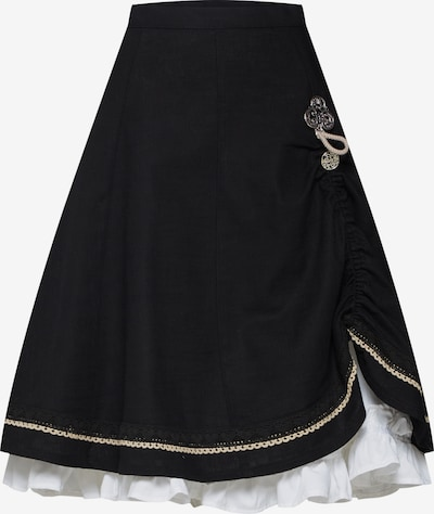 MARJO Krojová sukňa 'Esther-Marie' - čierna, Produkt