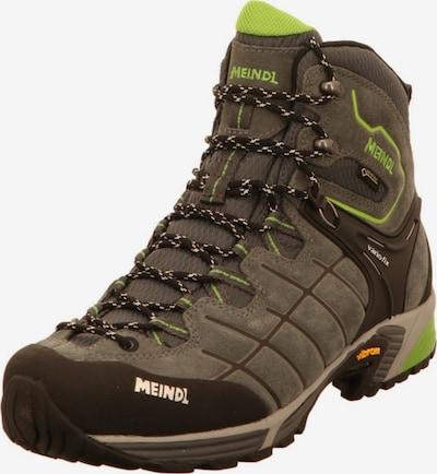 MEINDL Boots in de kleur Donkergrijs / Kiwi, Productweergave