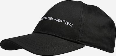 DIESEL Czapka z daszkiem 'COMIXI' w kolorze czarny / białym, Podgląd produktu