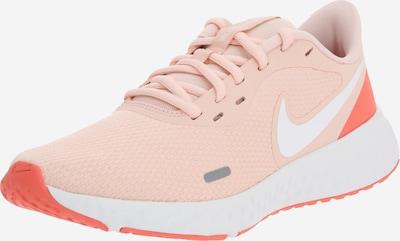 NIKE Chaussure de sport 'Nike Revolution 5' en pêche / blanc, Vue avec produit