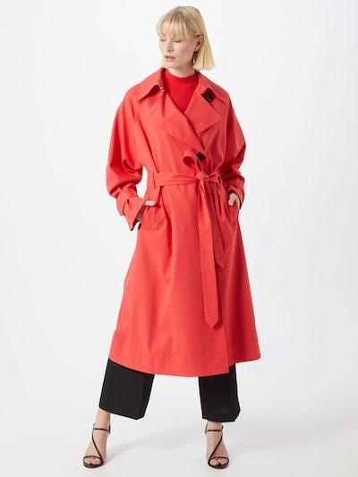 HUGO Mantel 'Makaly' in rot, Modelansicht