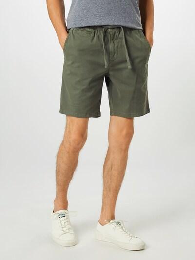 Superdry Kalhoty 'SUNSCORCHED' - olivová: Pohled zepředu