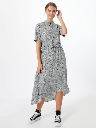 SELECTED FEMME Kleid 'Bella' in schwarz / weiß, Modelansicht