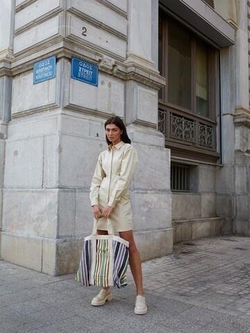 Casual Beige Dress Look