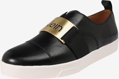 Calvin Klein Sneaker 'ILONA' in gold / schwarz, Produktansicht