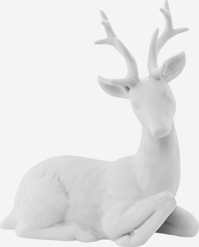 Bloomingville Dekofigur 'Hirsch' in weiß, Produktansicht