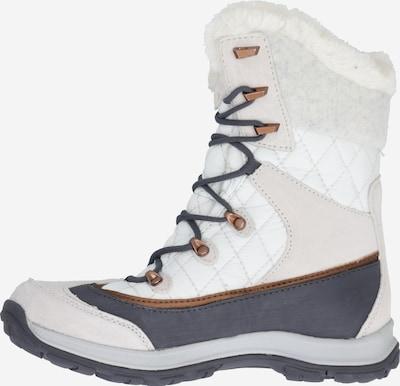 JACK WOLFSKIN Boots 'Aspen' in grau / hellpink / weiß, Produktansicht