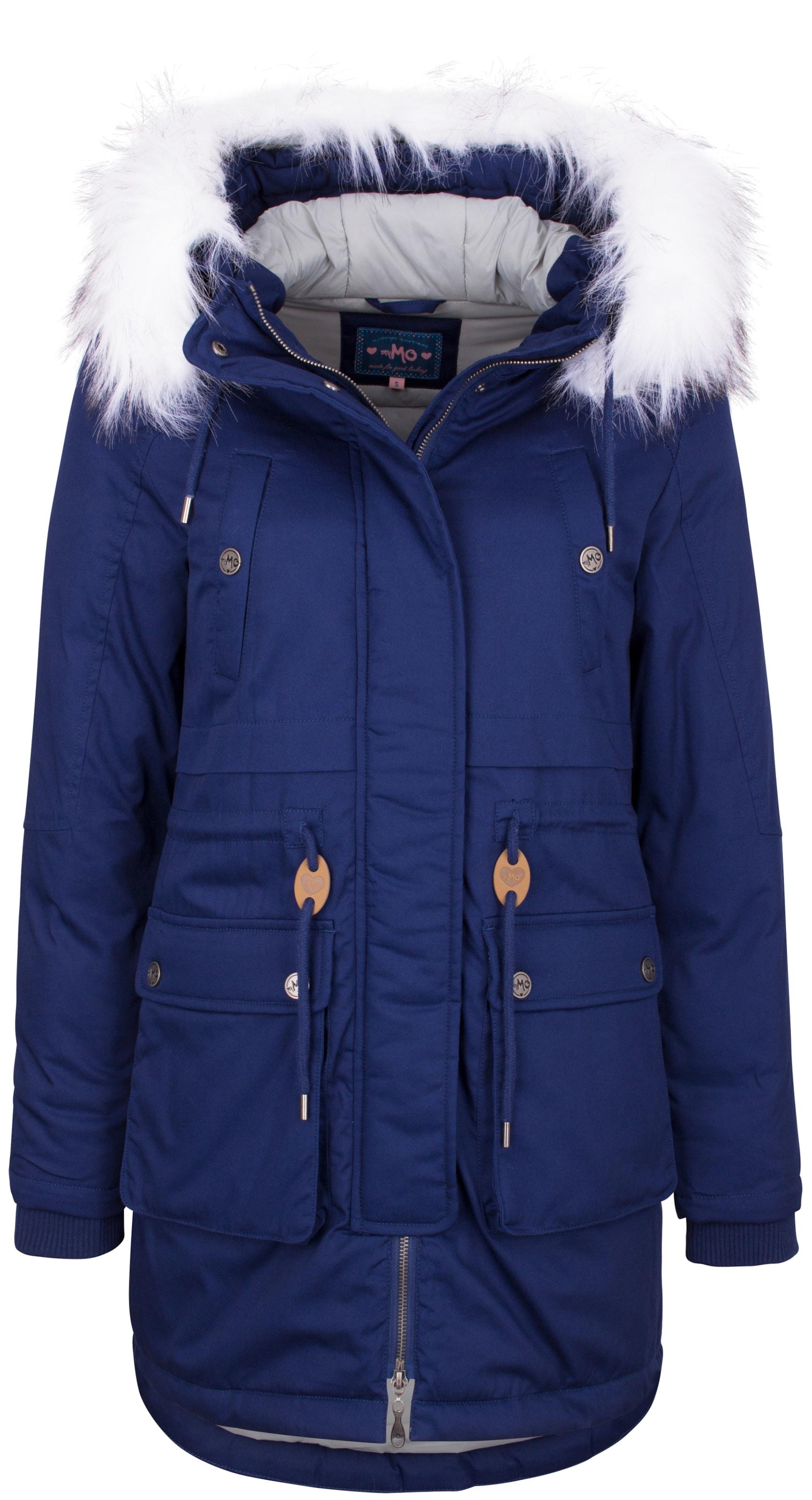 Mymo D'hiver Manteau Mymo Bleu D'hiver Manteau Bleu D'hiver En En Mymo Manteau nvNwm8Oy0
