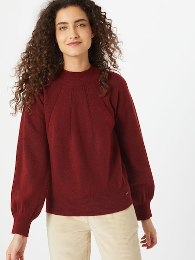 Pepe Jeans Pullover 'Clotilda' in rostrot, Modelansicht