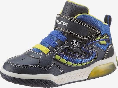 GEOX Tenisice u plava / indigo / žuta, Pregled proizvoda