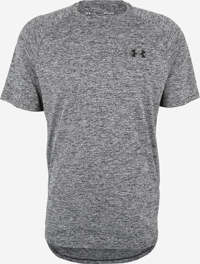 UNDER ARMOUR Funktionsshirt 'Tech 2.0' in graumeliert / schwarz, Produktansicht
