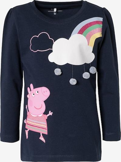Peppa Pig Langarmshirt 'Peppa Pig' in dunkelblau / mischfarben, Produktansicht