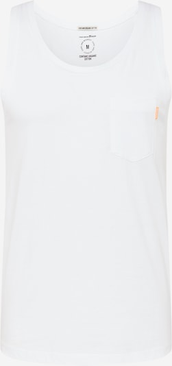TOM TAILOR DENIM T-Shirt en blanc: Vue de face