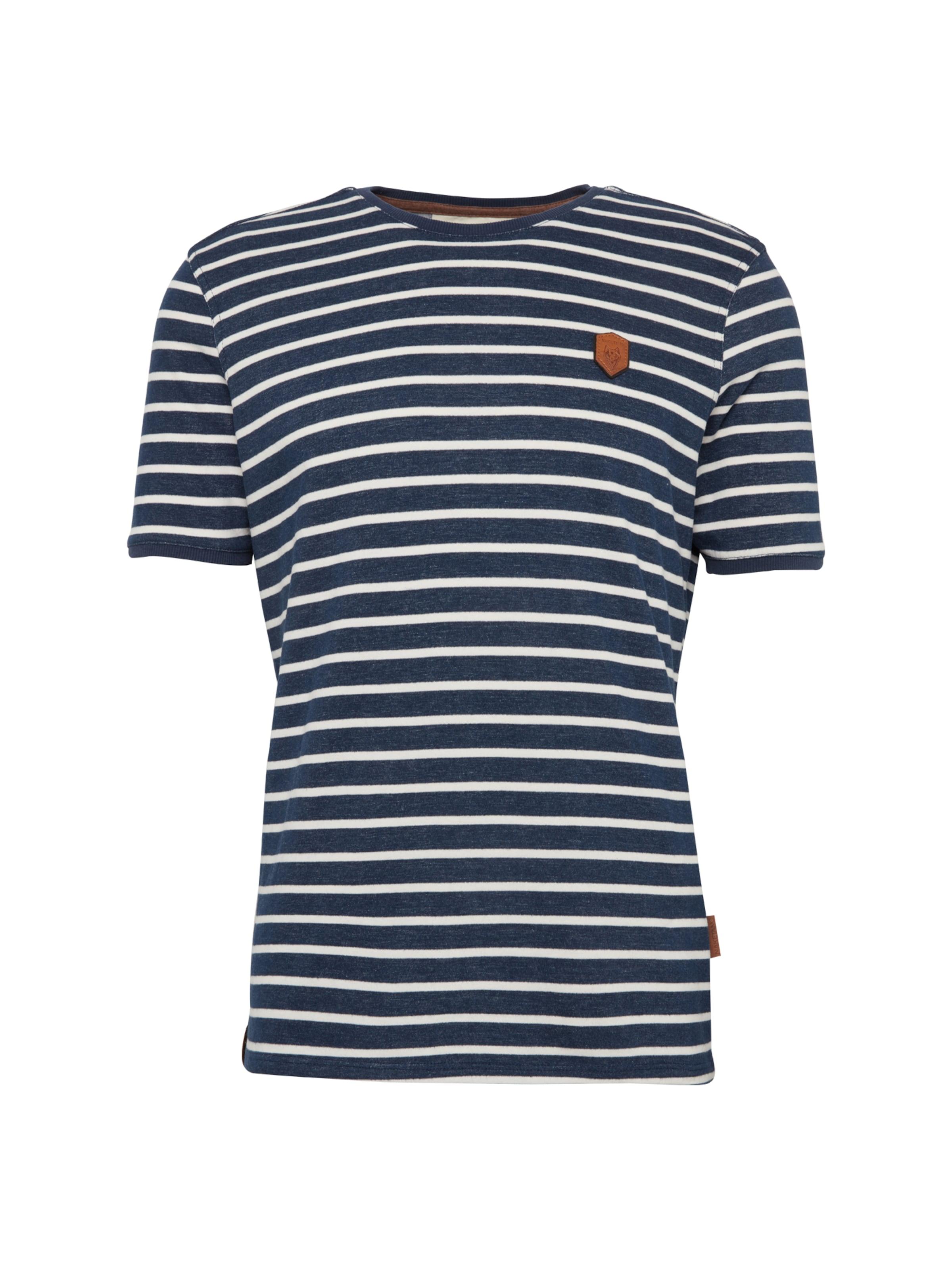 T shirt Bleu MarineBlanc En Naketano hoxBQrdtsC