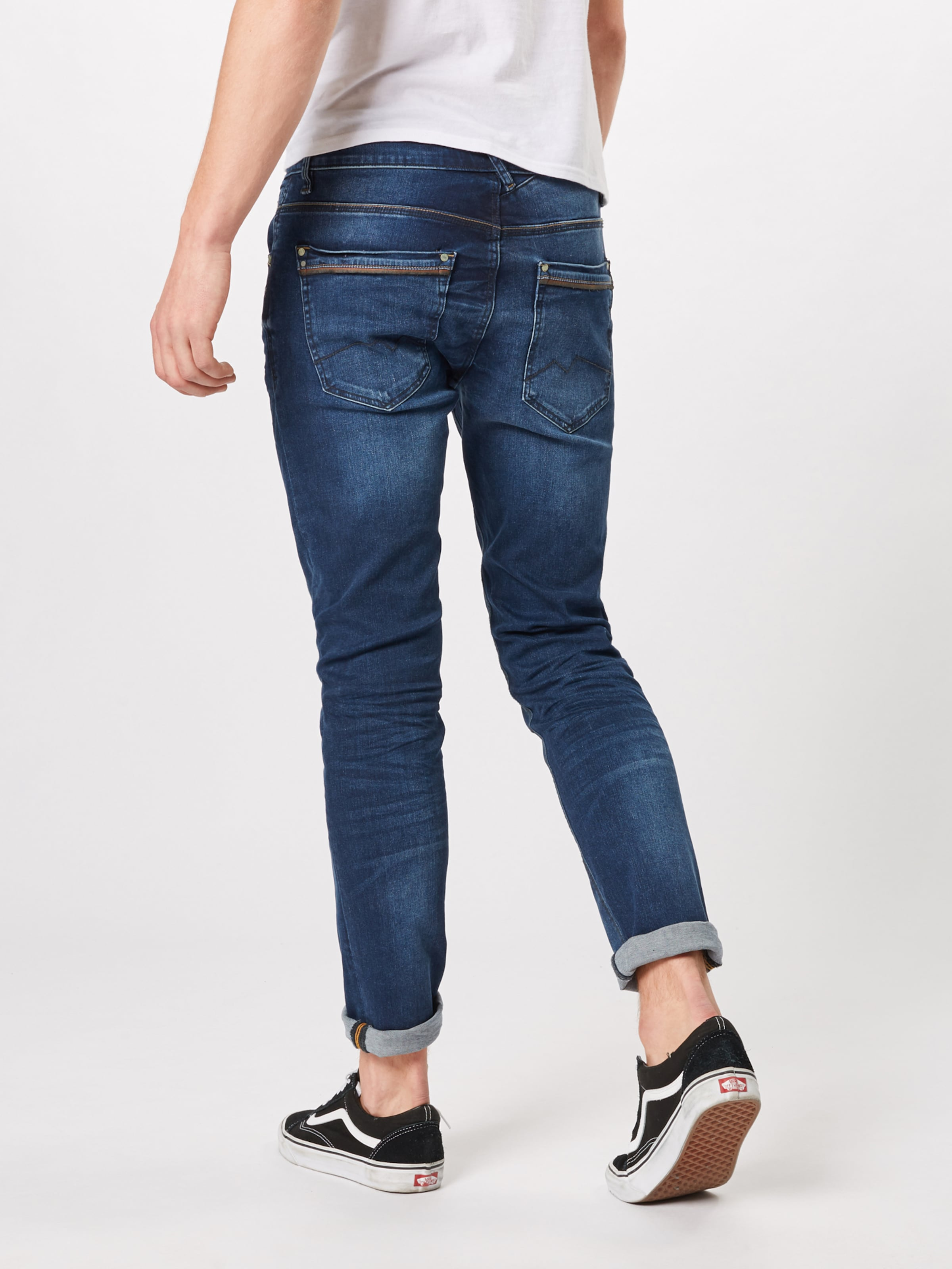 'twister Regular Blue Denim Jeans Blend In Straight' lK1TJ3Fc