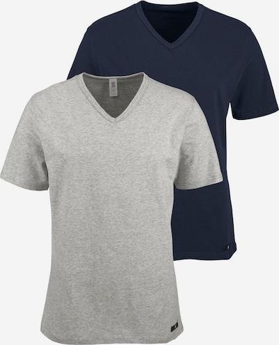 H.I.S T-shirt i marinblå / gråmelerad, Produktvy