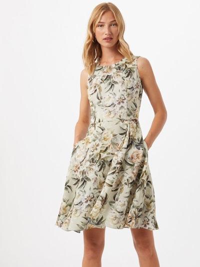 SWING Kleid in beige / mischfarben: Frontalansicht
