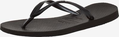HAVAIANAS Zehensandale 'Slim' in schwarz, Produktansicht