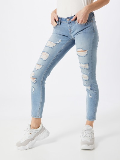 ONLY Jeans 'ONLCORAL' in blue denim / hellblau, Modelansicht