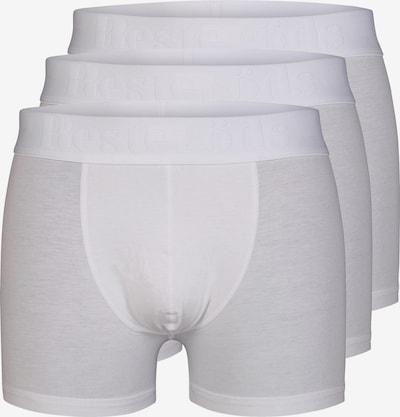 Resteröds Boxers 'Gunnar' en blanc, Vue avec produit