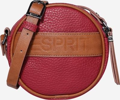 Geantă de umăr ESPRIT pe maro / roșu cireș, Vizualizare produs