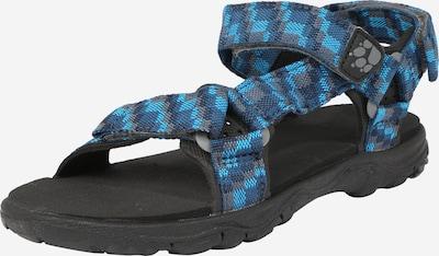 JACK WOLFSKIN Sandale'Seven Seas' in blau / schwarz, Produktansicht