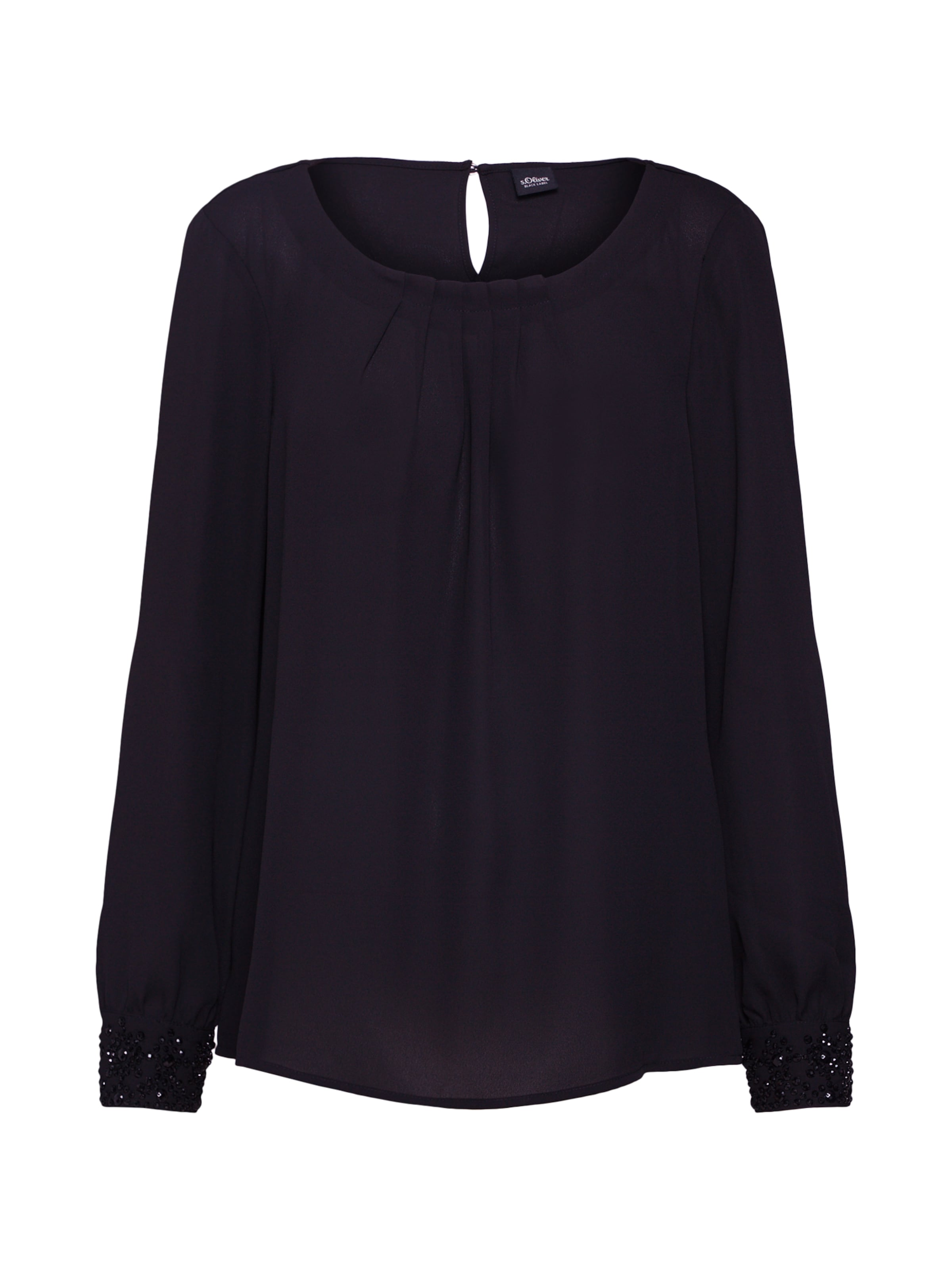 Label Blouse Zwart oliver S Black In YEH92eWbDI