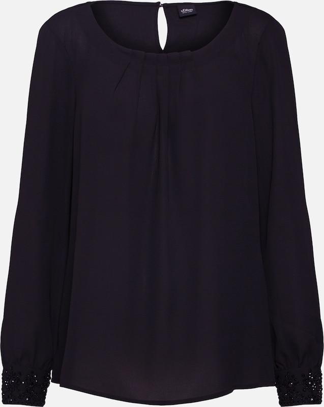 Label Blouse Zwart oliver S Black In YEH92eWbDI
