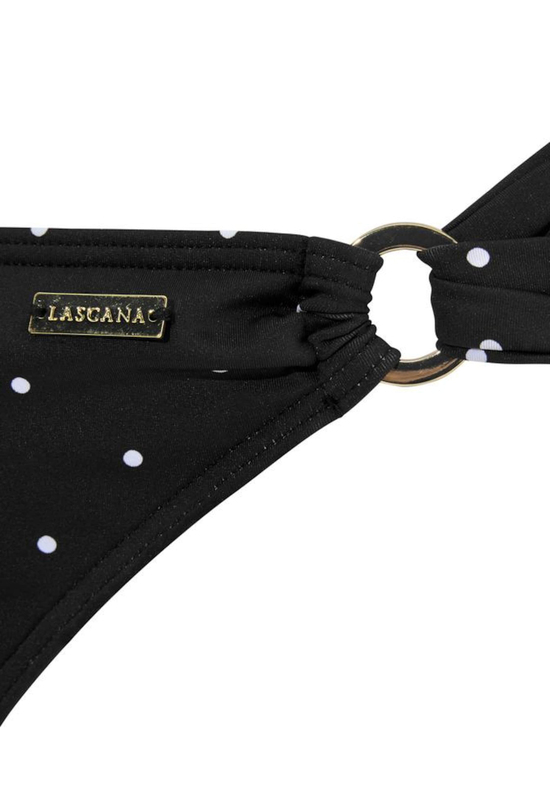LASCANA Bikinibyxa 'Sparkel' i svart