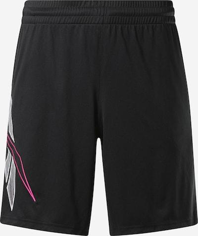 Reebok Classic Shorts in pink / schwarz / weiß, Produktansicht