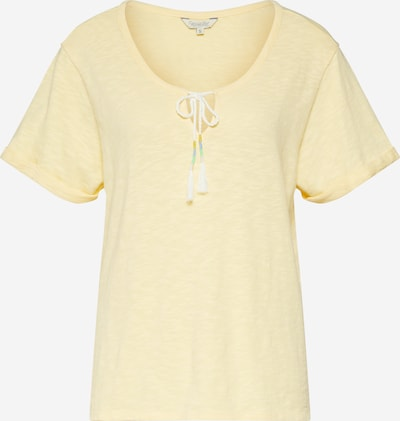 Herrlicher T-Shirt 'Presley Jersey Flame' in gelb, Produktansicht