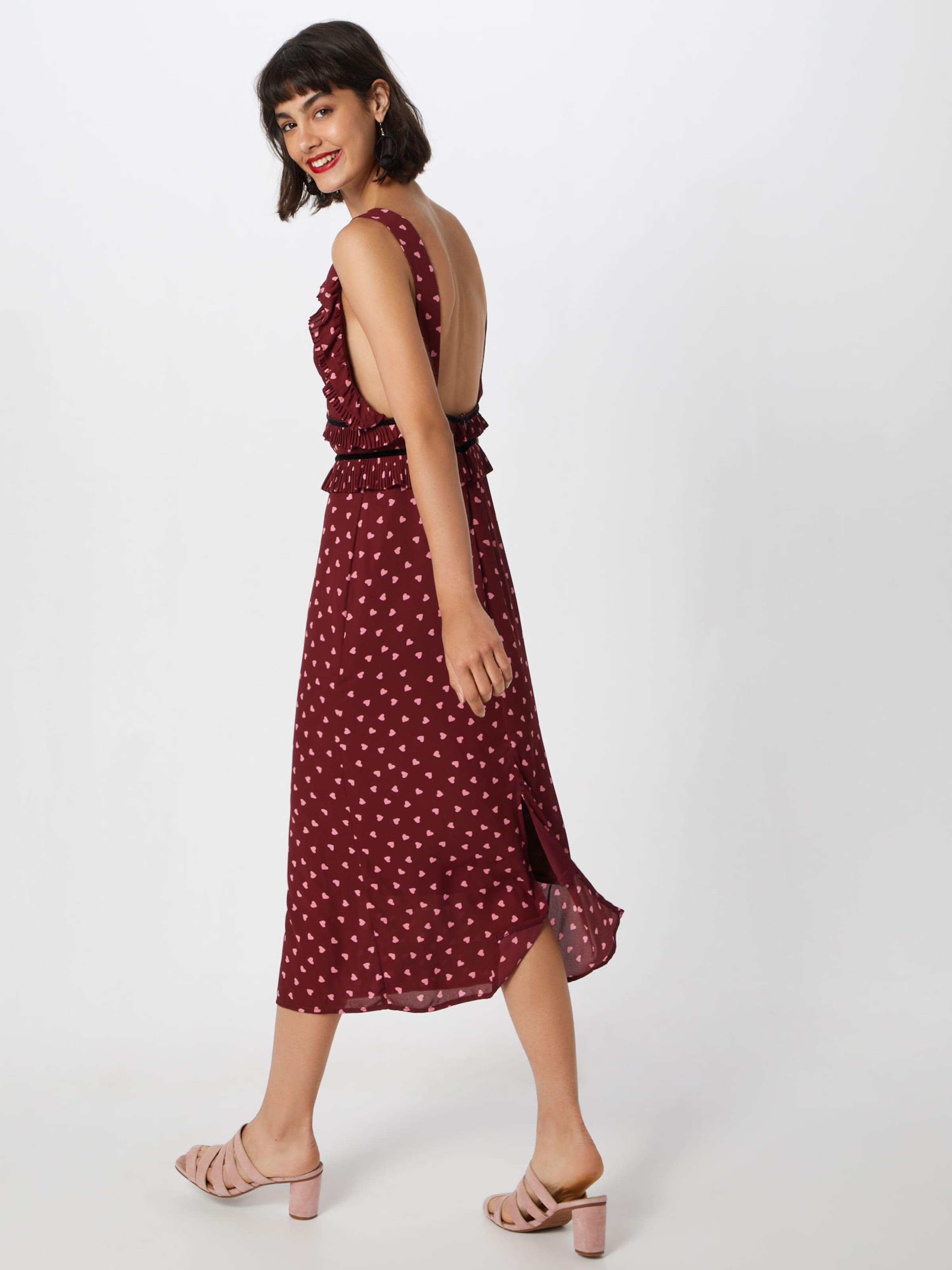 Union Kleid In Fashion RosaBlutrot 'passion' sBQthxrdC