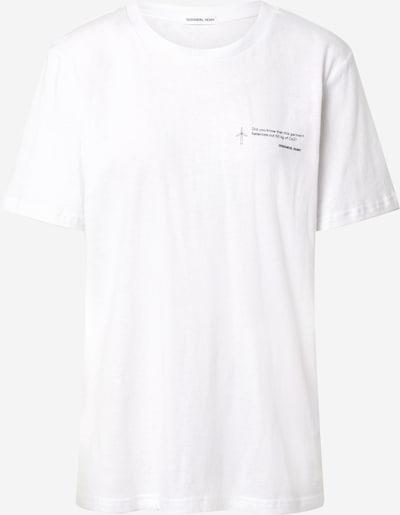 Marškinėliai 'Stanley' iš Designers Remix , spalva - juoda / balta, Prekių apžvalga