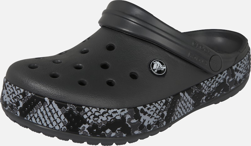 Crocs Clogs 'Crocband Snake ' in graphit, Produktansicht