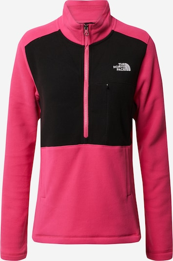 THE NORTH FACE Fleecejacke in pink / schwarz, Produktansicht