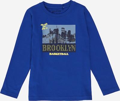 BLUE SEVEN Shirt in navy / taubenblau / gelb / khaki / schwarz / schwarzmeliert, Produktansicht