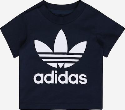 ADIDAS ORIGINALS T-Shirt 'Trefoil' in navy / weiß, Produktansicht