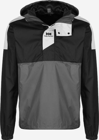 HELLY HANSEN Sportjas 'Yu' in de kleur Grijs / Zwart, Productweergave