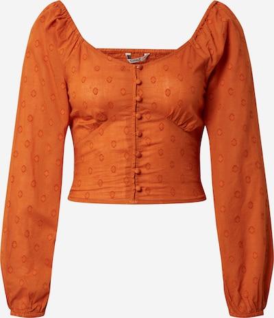 ONLY Chemisier 'ONLESTHER' en orange, Vue avec produit