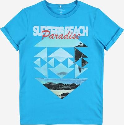 NAME IT Koszulka 'NKMJULIUS SS TOP CAMP' w kolorze niebieskim, Podgląd produktu