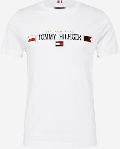 TOMMY HILFIGER Majica 'MIRRORED FLAGS' | mornarska / rdeča / bela barva, Prikaz izdelka
