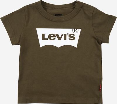 LEVI'S Majica u maslinasta / bijela, Pregled proizvoda