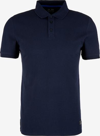 Q/S designed by Poloshirt in dunkelblau, Produktansicht