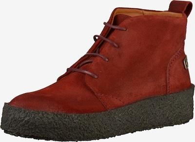 SHABBIES AMSTERDAM Stiefelette in rot / schwarz, Produktansicht