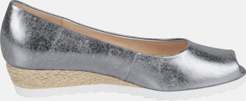GABOR Comfort Keilpumps mit Metallic-Effekt
