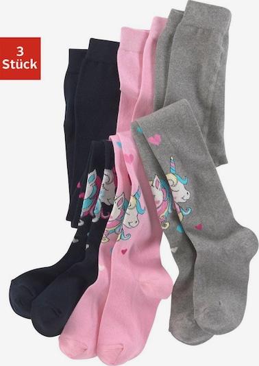HIS JEANS H.I.S Strickstrumpfhose (Packung, 3 Stück) in mischfarben, Produktansicht