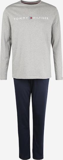 Tommy Hilfiger Underwear Pikk pidžaama tumesinine / hall / punane / valge, Tootevaade