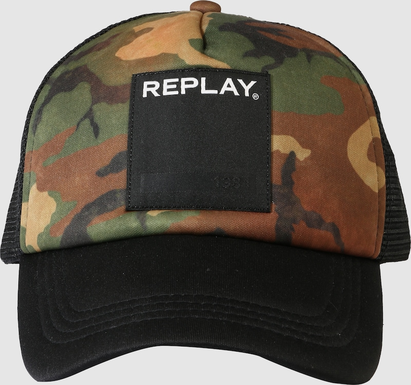 REPLAY Cap mit Logopatch